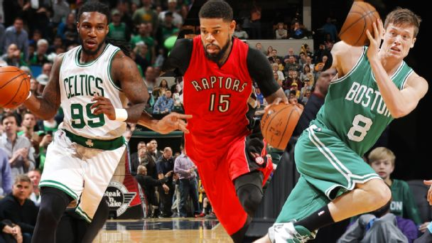 Jae Crowder, Amir Johnson, Jonas Jerebko