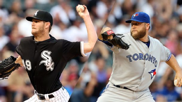 Chris Sale and Mark Buehrle