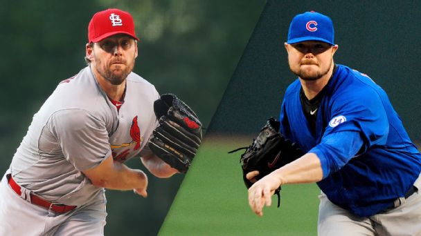 John Lackey and Jon Lester