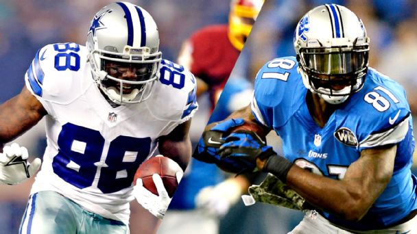 Dez Bryant, Calvin Johnson