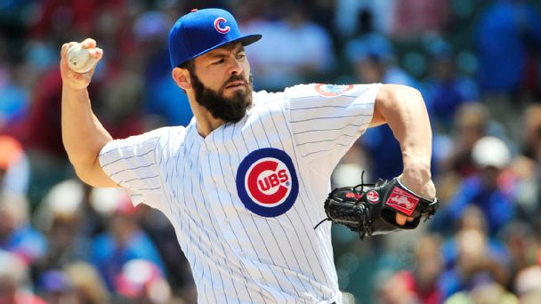 Chicago sports teams scores stats news standings for Jake arrieta tattoo