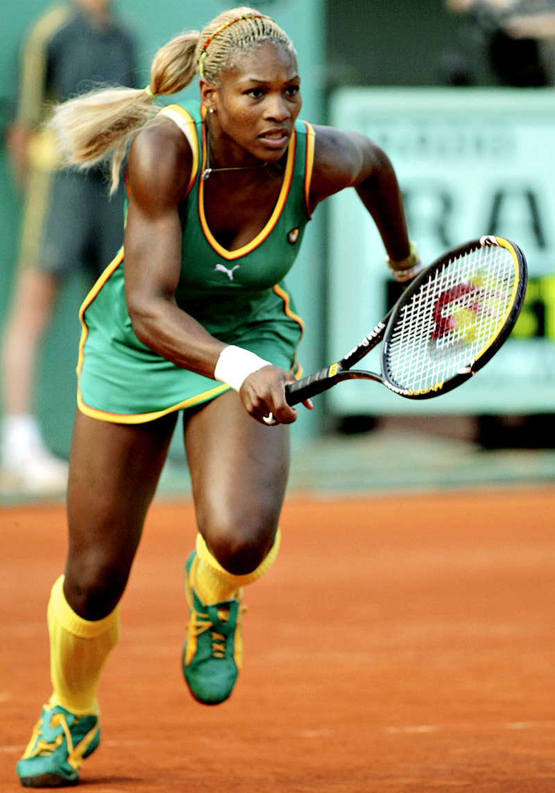 74a94a9e5a8 Some Slammin  Serena Williams Fashion  Then And Now