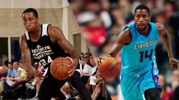 Rondae Hollis-Jefferson and Michael Kidd-Gilchrist