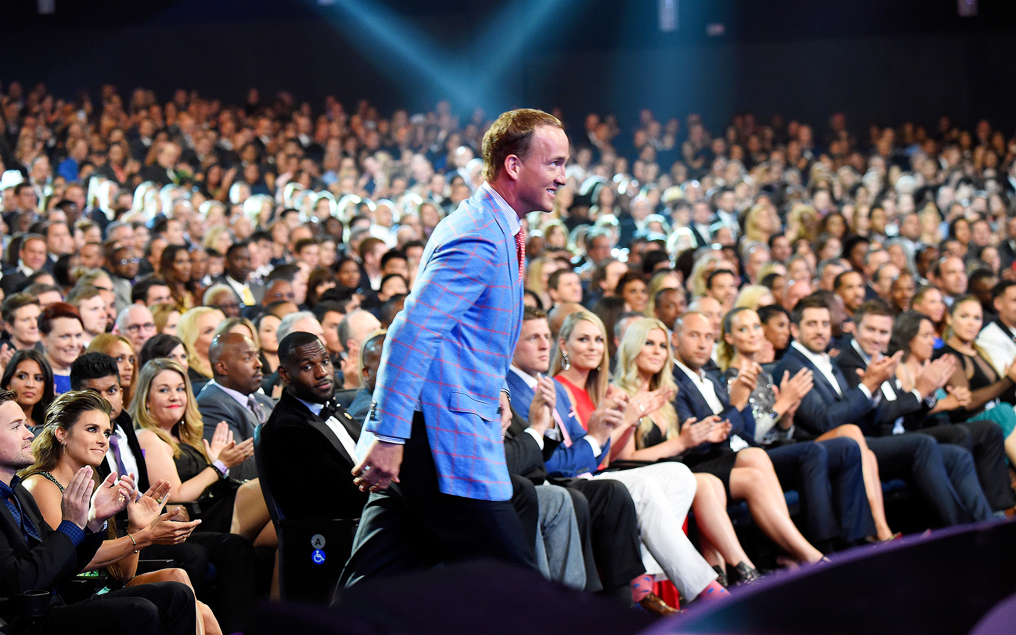 Forward progress - Scenes from the 2015 ESPYS - ESPN