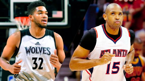 Karl-Anthony Towns, Al Horford