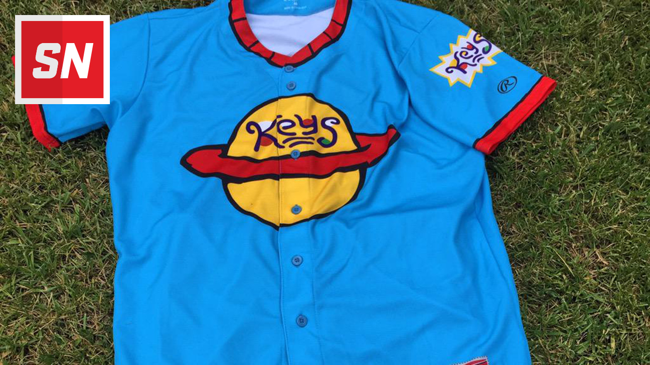 official photos 8c5ea cdfd9 This Minor League team's throwback cartoon-themed jerseys ...