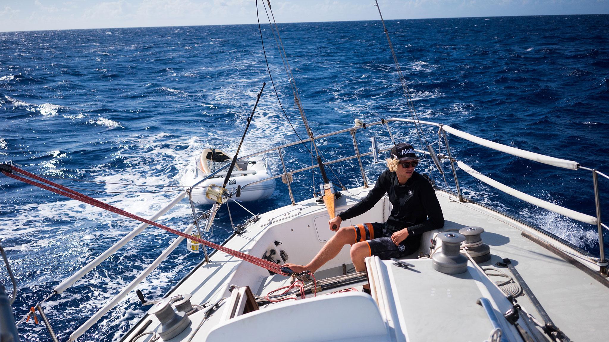 Sailing The Sea With John John Florence
