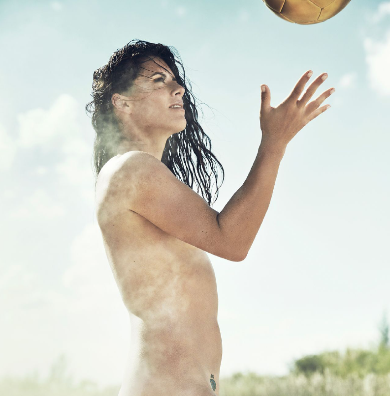 Ali krieger espn body issue behind the scenes 5
