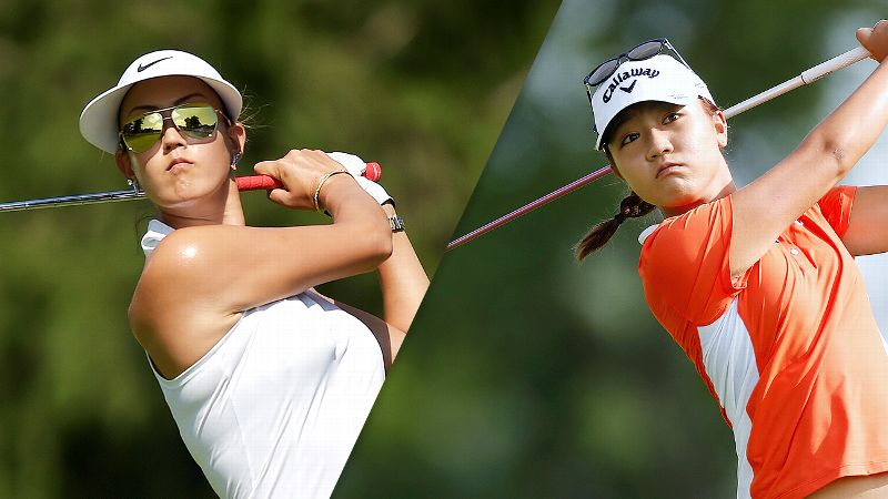 Michelle Wie and Lydia Ko