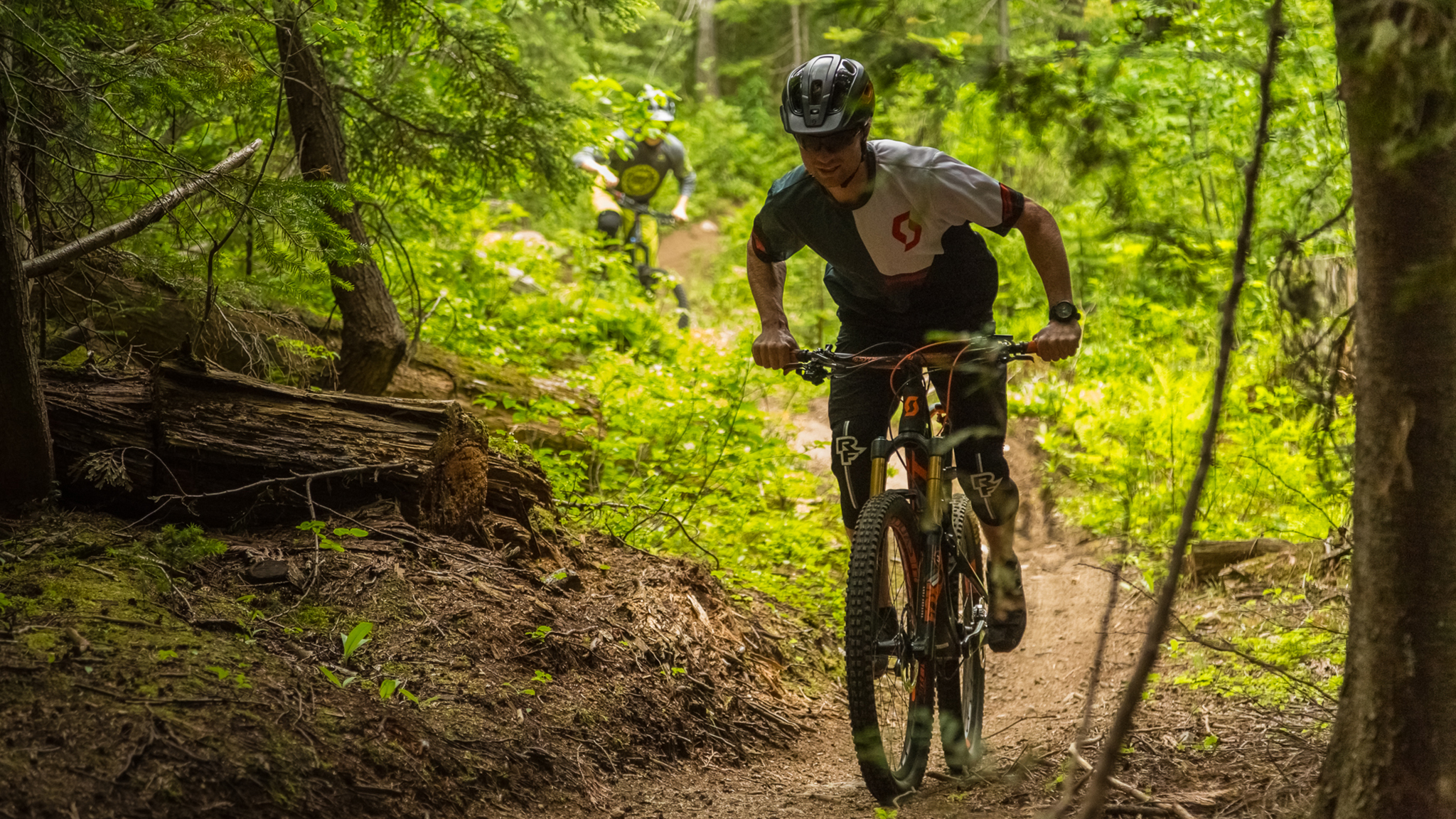 Mountain biking with Dane Tudor