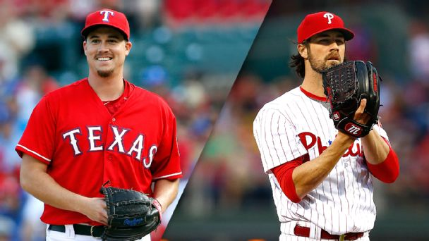 Chi Chi Gonzalez and Cole Hamels