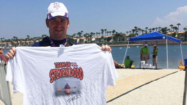 Stephen Dodd, Kayak, Special Olympics