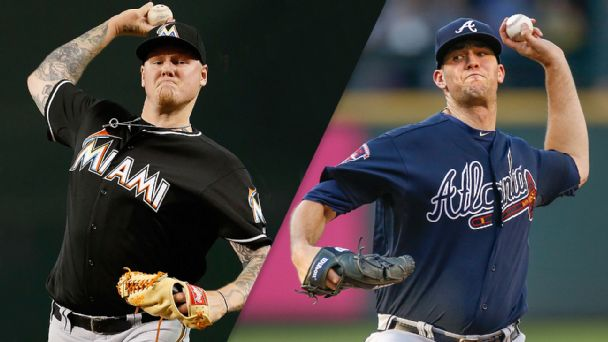 Mat Latos and Alex Wood
