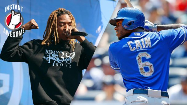 Fetty Wap and Lorenzo Cain