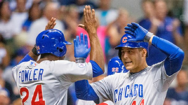 Anthony Rizzo, Dexter Fowler