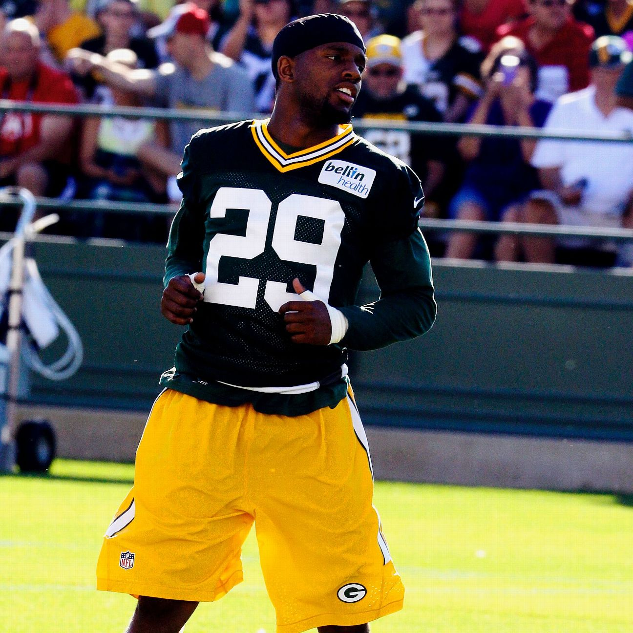Packers CB Casey Hayward looks recovered from foot surgery