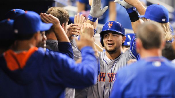 Follow live: Surging Mets on a roll in Miami