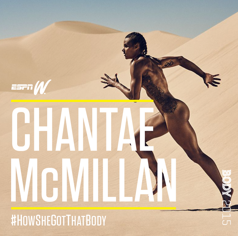 espnW #HowSheGotThatBody - Chantae McMillan
