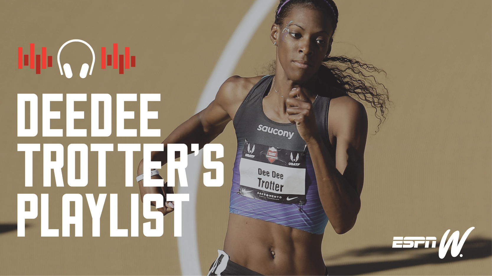 espnW Spotify Playlist DeeDee Trotter