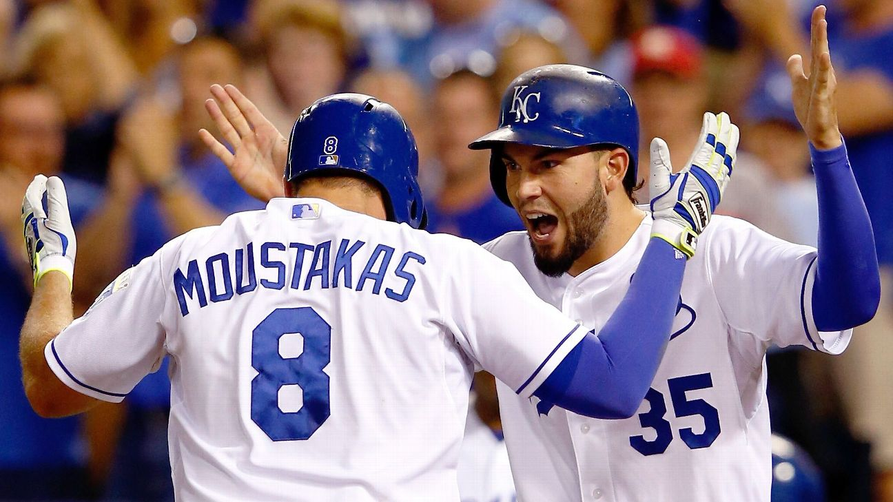 Mike Moustakas and  Eric Hosmer