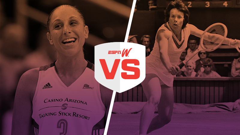 espnW Best Female Athlete Match-Up ROUND 2