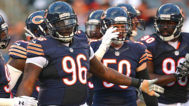 Chicago Bears defensive tackle Jarvis Jenkins