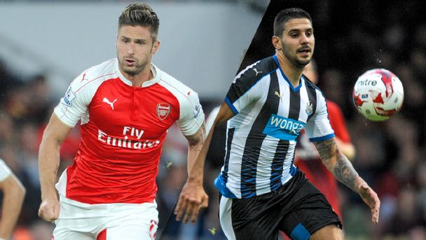 Newcastle vs. Arsenal, Chelsea vs. Palace, Liverpool vs. West Ham - chat