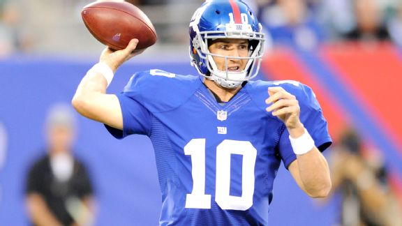 New York's Eli Manning