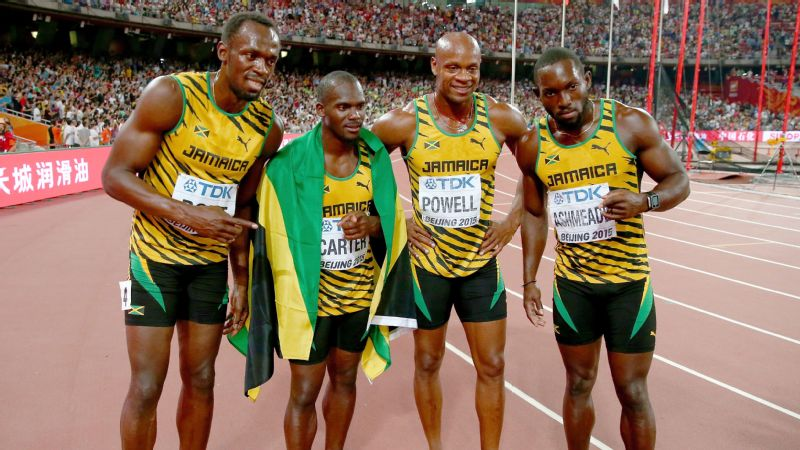 Jamaica won seven gold medals during the nine-day world championships.