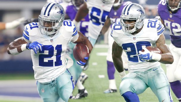Joseph Randle and Darren McFadden