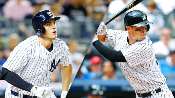 Greg Bird and Rob Refsnyder