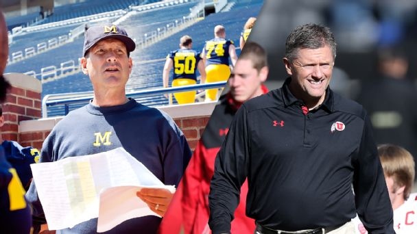 Jim Harbaugh, Kyle Whittingham