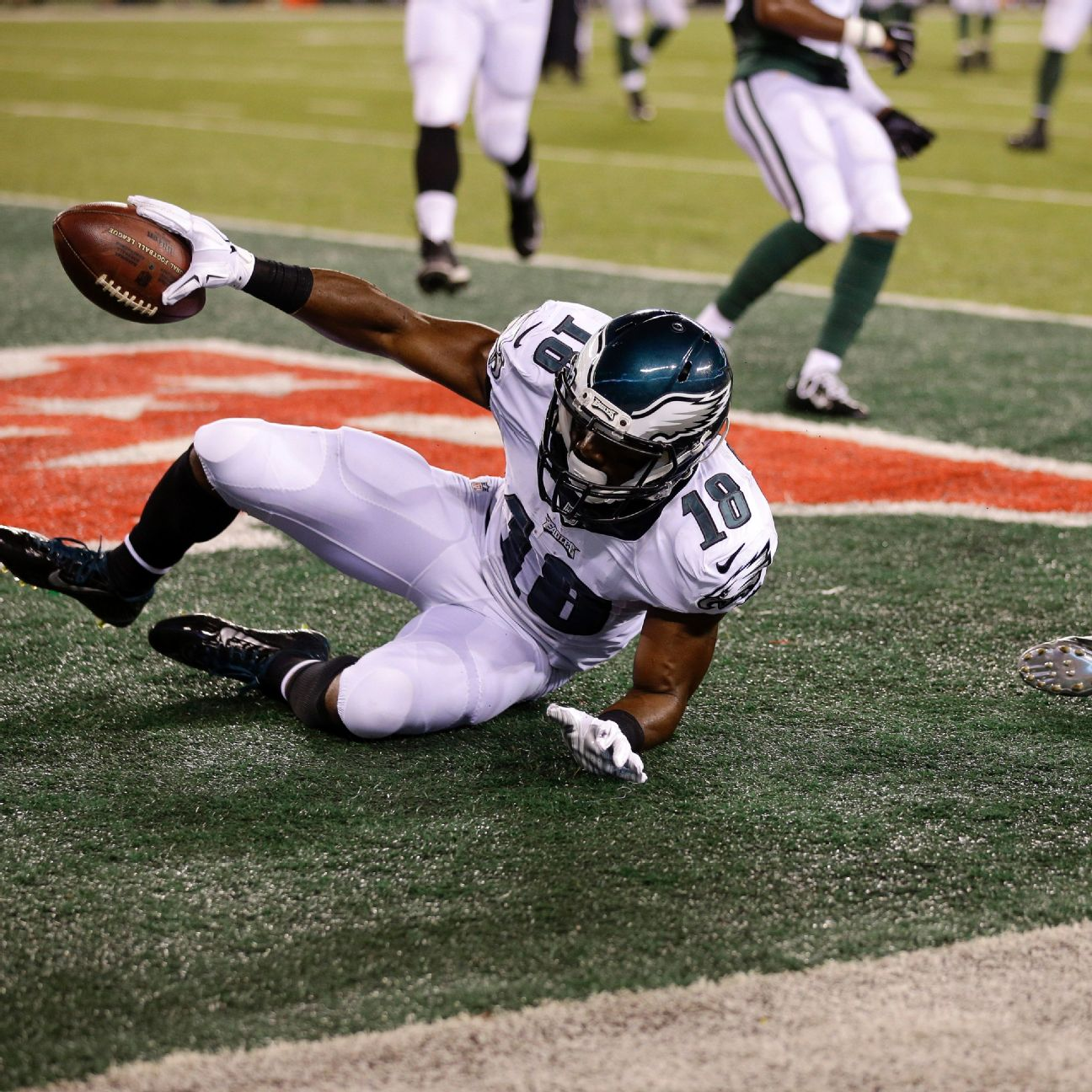 Eagles rookie Rasheed Bailey catches TD, hopes to stay