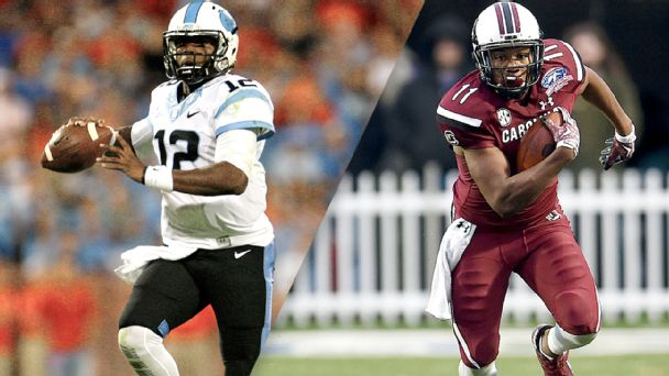 Watch live: UNC, South Carolina kick off season
