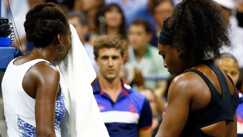 Serena Williams to Venus Williams