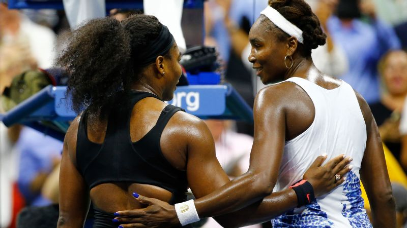2015 US Open quarterfinals, Serena wins 6-2, 1-6, 6-3