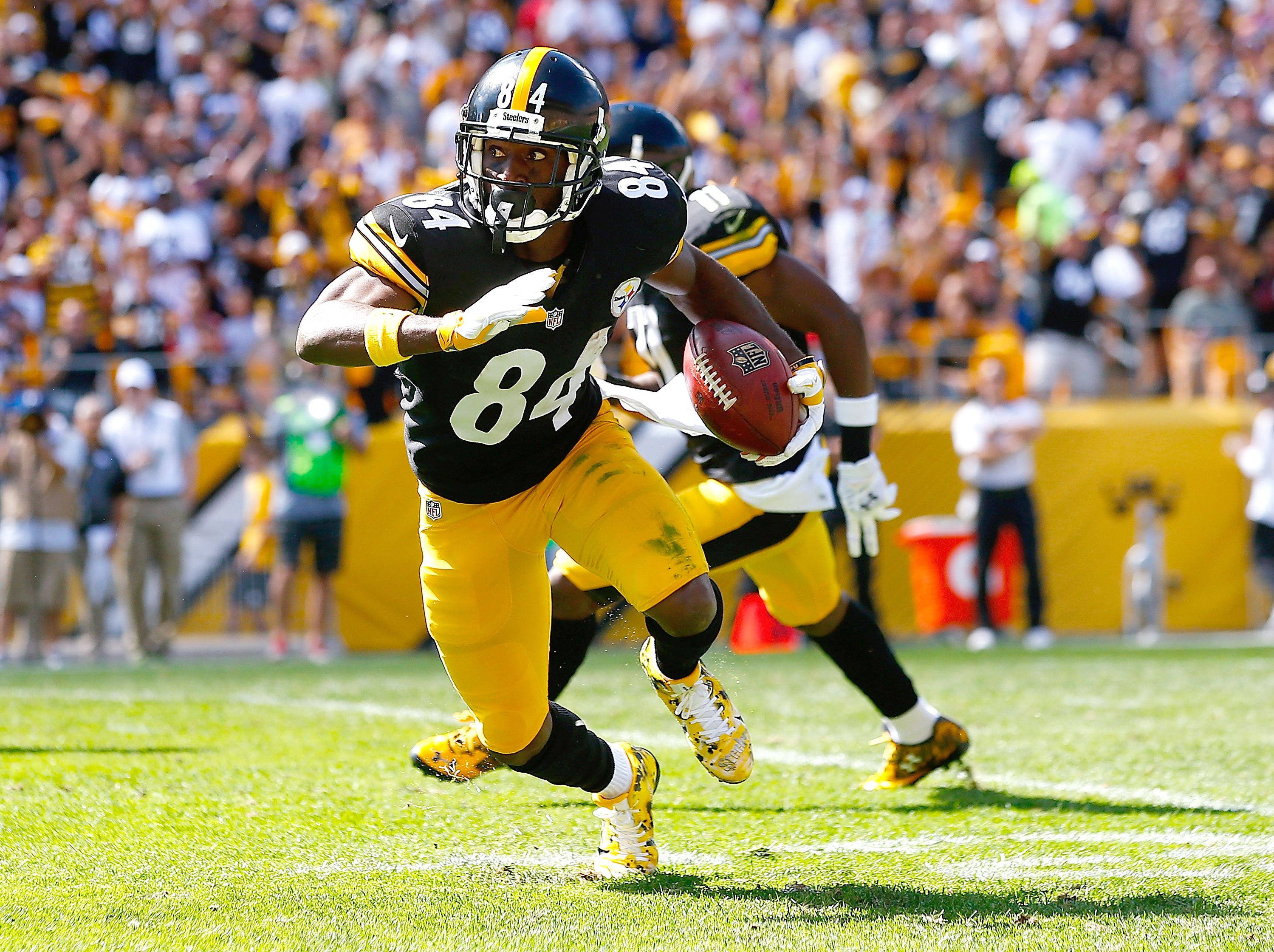Antonio Brown - Photos: 49ers vs. Steelers - ESPN