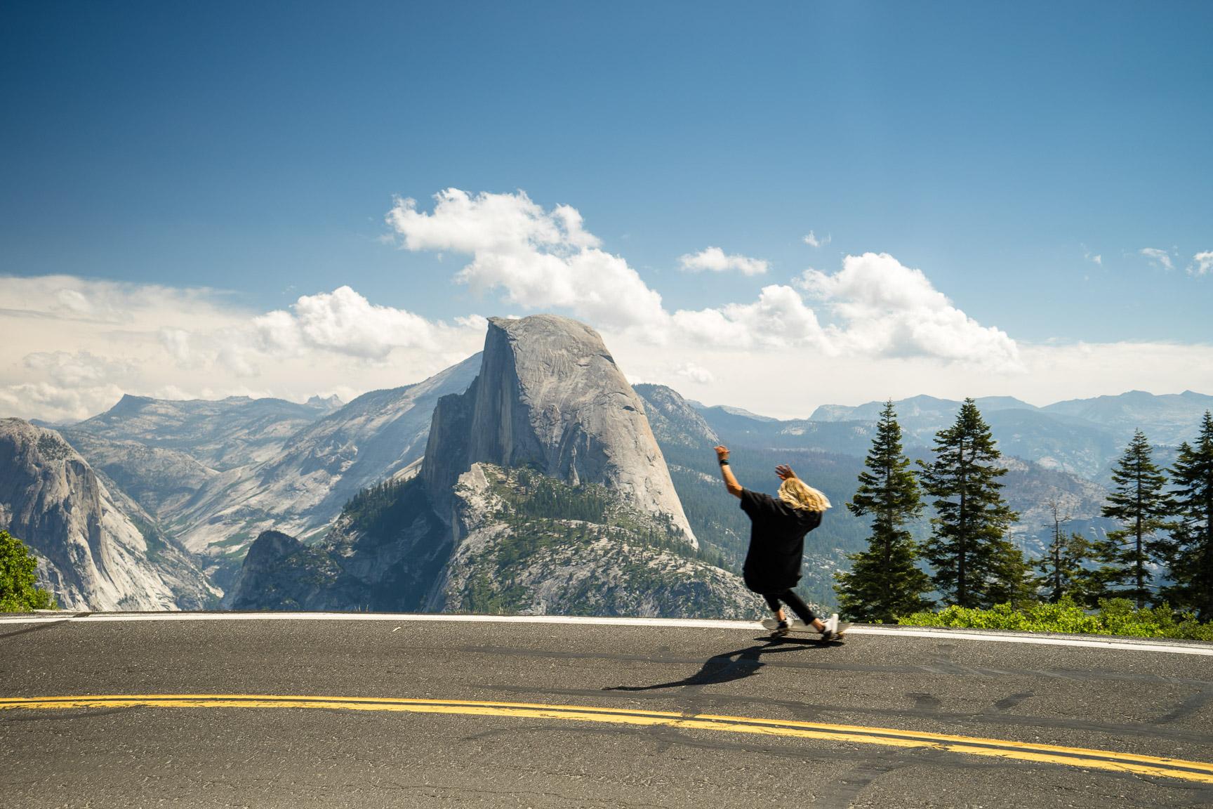 Russell Holliday, Yosemite, California