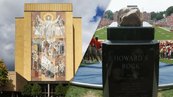 Touchdown Jesus, Howard's Rock