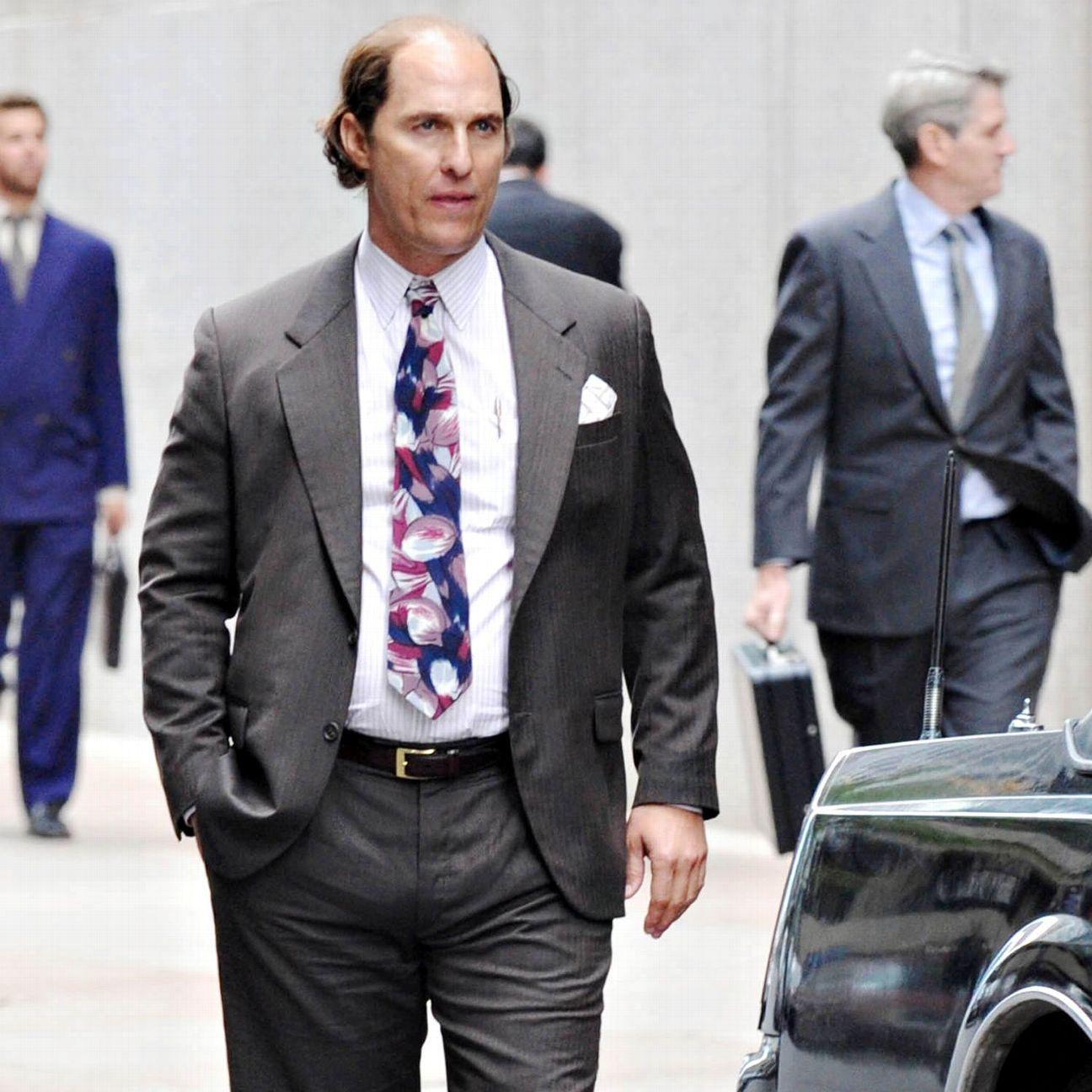 Matthew McConaughey got Redskins 'fired up' before E