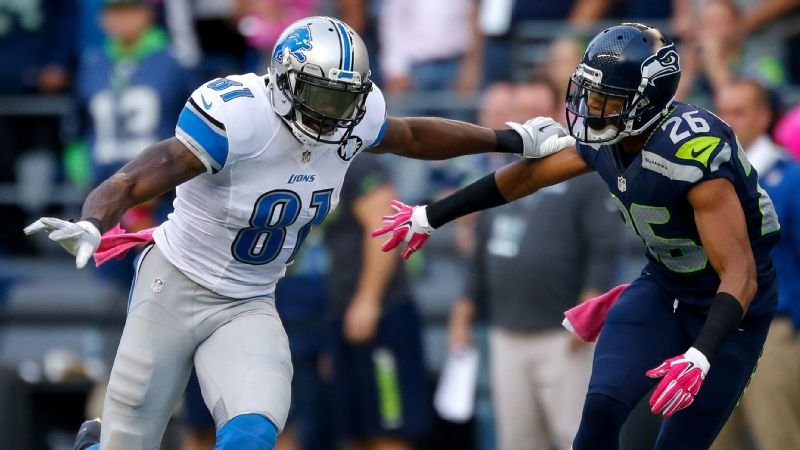 Bet you could never imagine the day we'd say not to start Lions wide receiver Calvin Johnson (No. 81). Well, it's here: Megatron might not even be a flex play in Week 5.