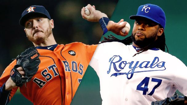 Royals win ALDS Game 2, get even with Astros