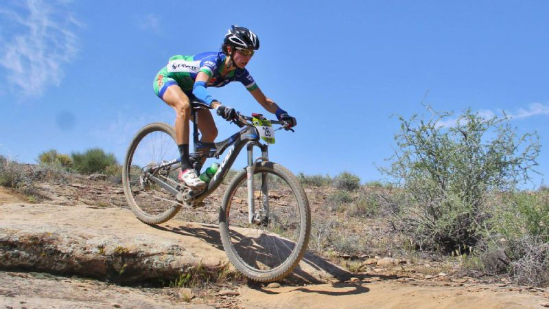 Mountain biker Jen Hanks was twice-diagnosed with cancer -- and says biking helped her get through the treatments and recovery.