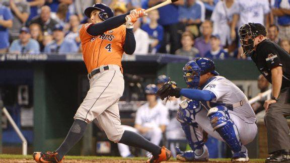 Astros-Royals Top 5: Small ball, big ball work for Astros