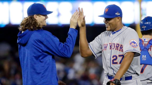 Friday's Top 5: Mets' Jacob deGrom (13 K's) outduels Clayton Kershaw