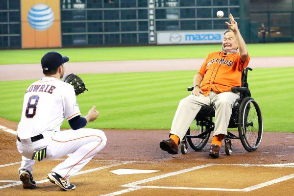 George H. W. Bush MLB
