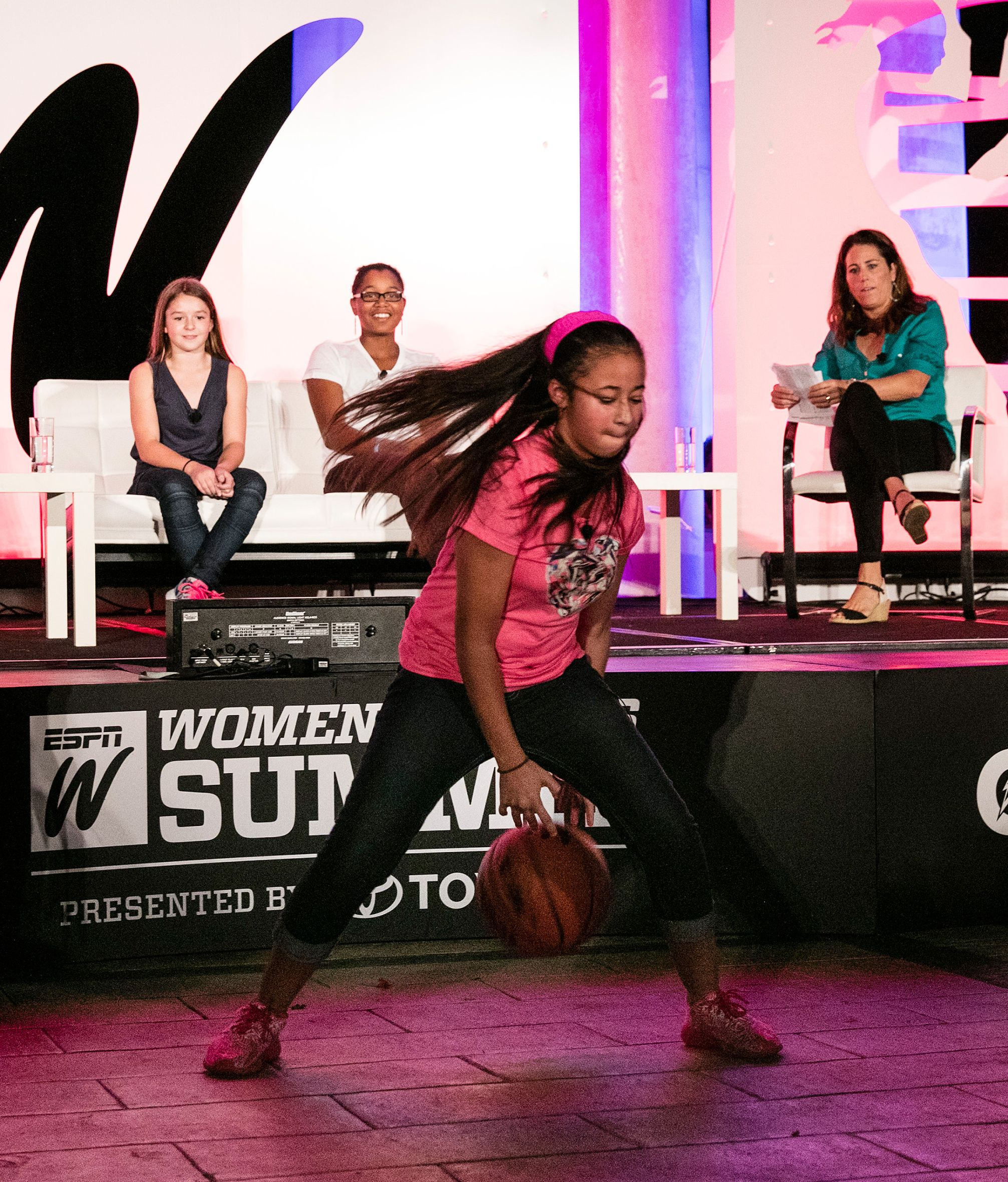 2015 espnW: Women  Sports Summit: Dribble skills
