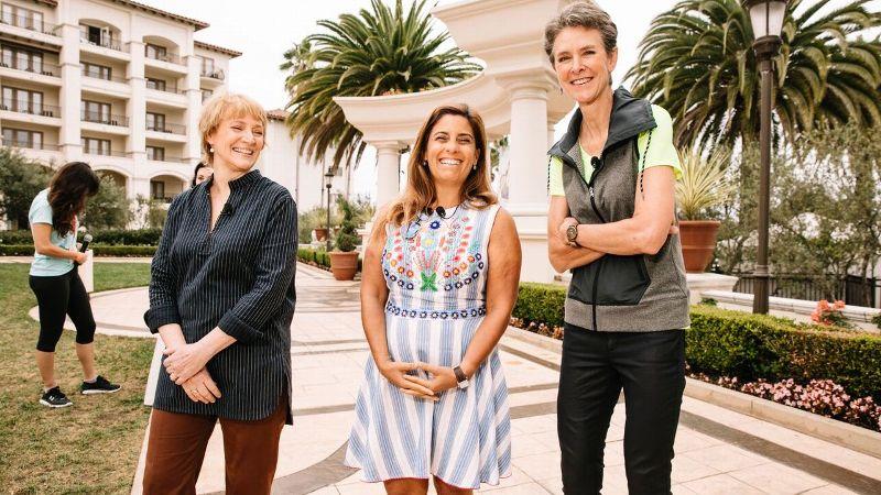 Beth Brooke-Marciniak, Karen Brodkin and Cynthia Hogan