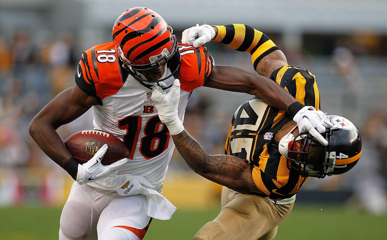 AJ Green s Bengals vs Steelers ESPN