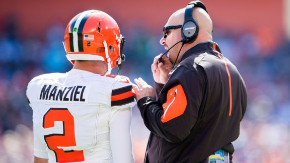 Johnny Manziel and Mike Pettine